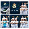 Eurocom Real Madrid: négyzetrácsos füzet - A4, 87-54, többféle