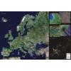 Európa űrtérkép könyöklő - Stiefel