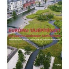 EURÓPAI TÁJÉPÍTÉSZET - MAGYAR-ANGOL - idegen nyelvű könyv