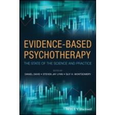 Evidence-Based Psychotherapy – Anthony David idegen nyelvű könyv