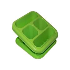 . Evőeszköz tartó +alj , műanyag, álló, 18x16x13cm konyhai eszköz