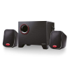 Ewent EW3505 Stereo Speakers 2.1 with Subwoofer Black