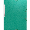 Exacompta Gumis mappa  zöld A4  245g