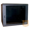 """Excel-Networking Excel WBFP15.5SGB 15U 600X500mm mély 19""""-os fali rack szekrény, fekete színben"""