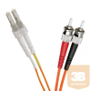 Excel-Networking Optikai duplex patch kábel LC-ST 50/125 OM2 3m (200-178) EXCEL