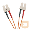 Excel-Networking Optikai duplex patch kábel SC-SC 50/125 OM2 2m (200-226) EXCEL