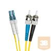 Excel-Networking Optikai duplex patch kábel ST-LC 9/125 OS2 2m (200-696) EXCEL