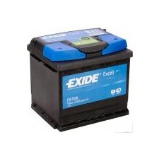 EXIDE 50Ah EXIDE Excell EB500 autó akkumulátor jobb+ autó akkumulátor