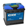 EXIDE Excell 50Ah 450A (EB500) Jobb+