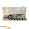 Extol fafúró klt. 6 db, 10-12-14-16-18-20×460mm, csavaros heggyel, hatszög befogás; fa dobozban 8801292