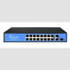 ExtraLink VIRTUS v2 16-port FastEthernet Unmanaged 150W PoE Switch; 1xSFP; 2xGbE