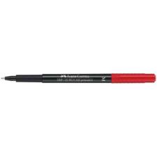 Faber-Castell Alkoholos marker FABER-CASTELL M 1 mm piros filctoll, marker
