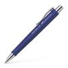 "Faber-Castell Golyóstoll, 0,5 mm, nyomógombos, FABER-CASTELL ""Poly Ball"", kék"