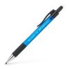 """Faber-Castell Nyomósirón, 0,5 mm, FABER-CASTELL """"Grip Matic 1375"""", kék"""