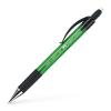 """Faber-Castell Nyomósirón, 0,5 mm, FABER-CASTELL """"Grip Matic 1375"""", zöld"""