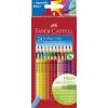 Faber-Castell Színes ceruza készlet háromszögletű Grip 2001 24 különböző szín
