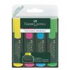 """Faber-Castell Szövegkiemelõ, 1-5 mm, FABER-CASTELL, """"Textliner 48"""", 4 különbözõ szín"""