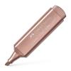 Faber-Castell Szövegkiemelő, 1-5 mm, FABER-CASTELL  TL 46 , metál rózsaszín