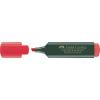 "Faber-Castell ""Textliner 48"" 1-5 mm piros szövegkiemelő"