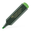 "Faber-Castell , ""Textliner 48"" 1-5 mm zöld szövegkiemelő"
