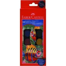 Faber Castell VÍZFESTÉK FABERCASTELL 12DBOS ecset, festék