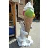 Fagyi-215 cm-MEDVE-jegesmedve/nagy gombócos fagyival