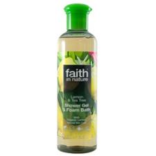 Faith in Nature citrom ĂŠs teafa tusfürdő - 400ml tusfürdők