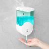 Fali szenzoros szappanadagoló, 600 ml, elemes, fehér