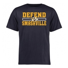 Fanatics Branded Nashville Predators fĂŠrfi póló black Hometown Defend - L