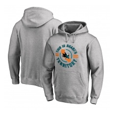 Fanatics Branded San Jose Sharks fĂŠrfi kapucnis pulóver grey Hometown Collection - XL