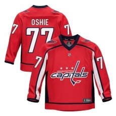 Fanatics Branded Washington Capitals gyerek jĂŠgkorong mez red #77 T.J. Oshie Replica Home Jersey - L/XL