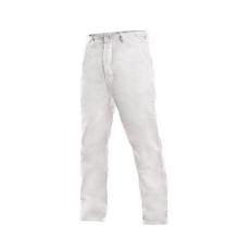 Fehér férfi nadrág, méret: 54