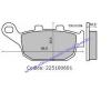 Fékbetét HONDA PANTHEON 125-150ccm 4T RSM 0601