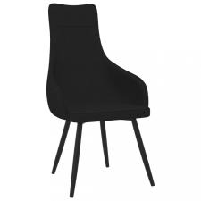 Fekete szövet kanapészék bútor