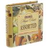 """. Fekete tea,filteres, 4x8x1,5 g, fém könyv dobozban, """"BASILUR Magic Fruits Assorted"""""""