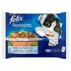 Felix Fantastic teljes értékű állateledel felnőtt macskáknak halas válogatás zöldséggel 4 x 100 g