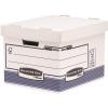 """FELLOWES Archiváló konténer, karton, standard, """"BANKERS BOX® SYSTEM by FELLOWES®"""", kék/fehér, 2 db/csomag"""