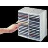 FELLOWES Automata kiemelőrendszerű CD-tároló, 30+18 db-os, fekete