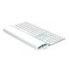FELLOWES Csuklótámasz billentyűzethez, szilikonos, FELLOWES I-Spire Series™, fehér