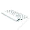 FELLOWES Csuklótámasz billentyűzethez, szilikonos, FELLOWES I-Spire Series™, fehér (IFW93942)