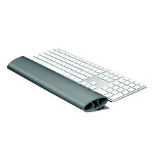 FELLOWES Csuklótámasz billentyűzethez, szilikonos, FELLOWES I-Spire Series™, grafitszürke asztali számítógép kellék