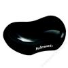 FELLOWES Csuklótámasz, mini, géltöltésű, FELLOWES Crystals™ Gel, fekete (IFW91123)