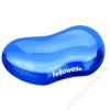 FELLOWES Csuklótámasz, mini, géltöltésű, FELLOWES Crystals™ Gel, kék (IFW91177)
