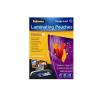FELLOWES Meleglamináló fólia, 80 mikron, A3 fényes, 100db/csomag, Fellowes