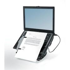 """FELLOWES Notebook állvány, USB portokkal, FELLOWES """"Professional Series™ Laptop Workstation"""" információs tábla, állvány"""