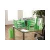 FELLOWES Papírkosár, mûanyag, FELLOWES Green2Desk, zöld
