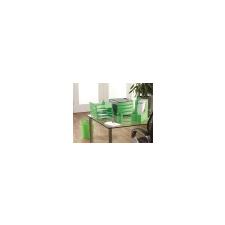 FELLOWES Papírkosár, mûanyag, FELLOWES Green2Desk, zöld szemetes