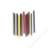 FELLOWES Spirál, műanyag, 10 mm, 41-55 lap, FELLOWES, piros (IFW53460)