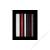 FELLOWES Spirál, műanyag, 12 mm, 56-80 lap, FELLOWES, fehér (IFW53312)