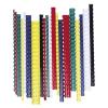 FELLOWES Spirál, műanyag, 38 mm, 281-340 lap, , 50 db, fekete